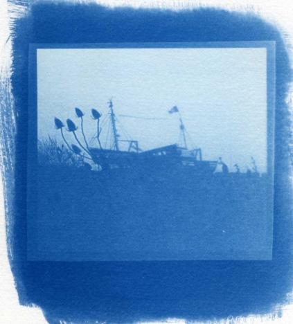 Tirage au cyanotype